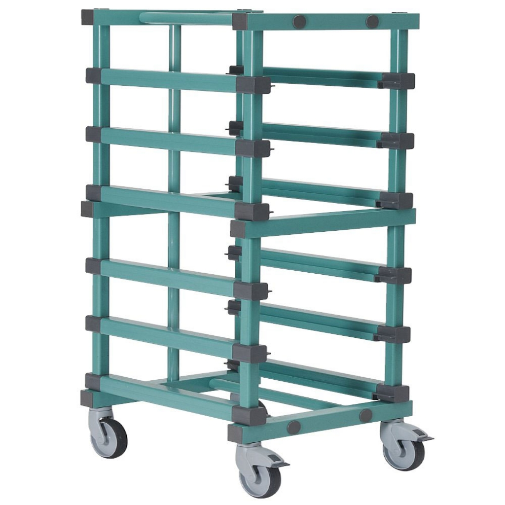 Bakery Tray Trolley 600 x 830 x 1385mm Single - 5 tier