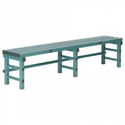 Plastic Bench Seat 2000 x 400 x 450mm