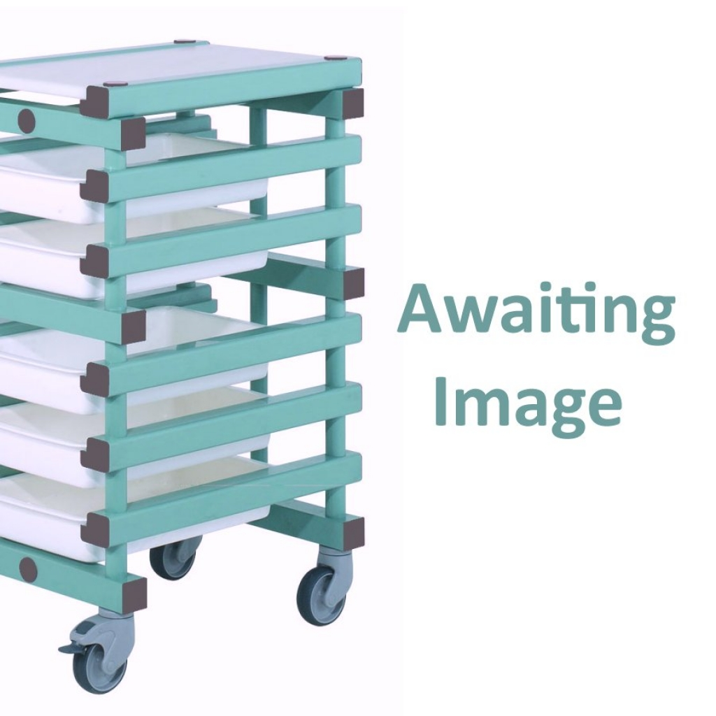 Mobile Prep Table 803 x 610 x 960mm Double - REA 10 tray