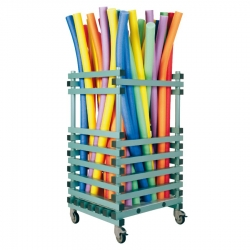 Noodle Float Storage Trolley 800 x 700 x 1350mm - Vertical