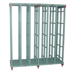 Swim Mat Storage Rack 2000 x 700 x 2320mm - 6 bay, Extra Tall