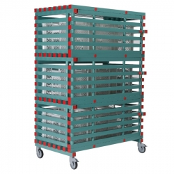 Lockable Equipment Storage Rack 1380 x 820 x 2050mm - 3 shelf, Extra Large