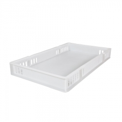 CT301892V - Confectionary tray 762 x 457 x 92mm ventilated sides, solid base