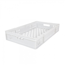 CT3018123P - Confectionary tray 762 x 457 x 123mm perforated sides & base