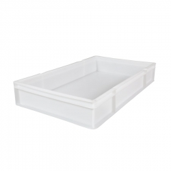 CT3018123S - Confectionary tray 762 x 457 x 123mm solid sides & solid base