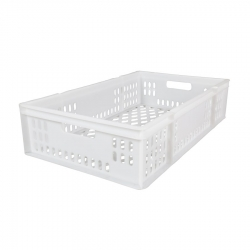 CT3018176P - Confectionary tray 762 x 457 x 176mm perforated sides & base