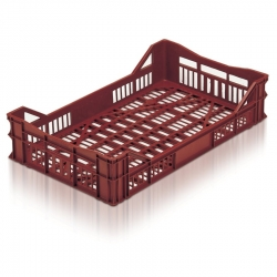 BT41042 - Bread basket 750 x 450 x 165mm stacking crate