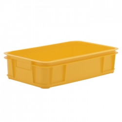 MSC104B - Meat Stacking container 640 x 385 x 150mm, solid sides & solid base