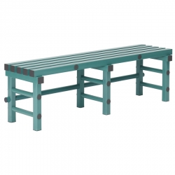 Plastic Bench Seat 1500 x 400 x 450mm